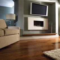 Family Room Wood Floor